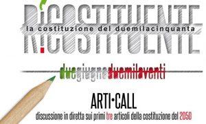 Webinar 2 giugno - Ri-costituente ARTI-CALL